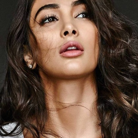 Cute Beautiful Pooja Hegde Face Images Pic For WhatsApp DP